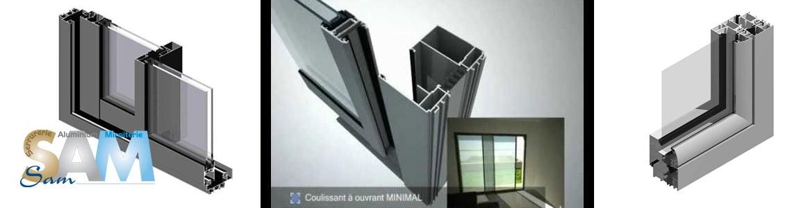 Fabrication des profilés aluminium TECHNAL