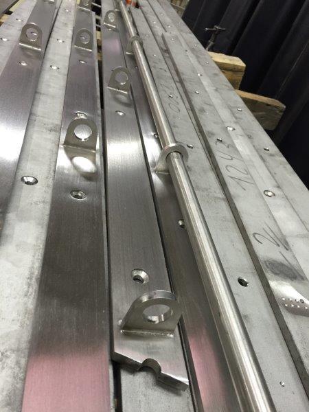 Pièce métallique fabriquée sur mesure en atelier